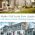 Make Old New Again with James Hardie Building Products; fiber cement siding is the best solution for your home #JamesHardieInspired #ad | mybigfathappylife.com