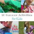 60 Summer Activities for Kids | mybigfathappylife.com