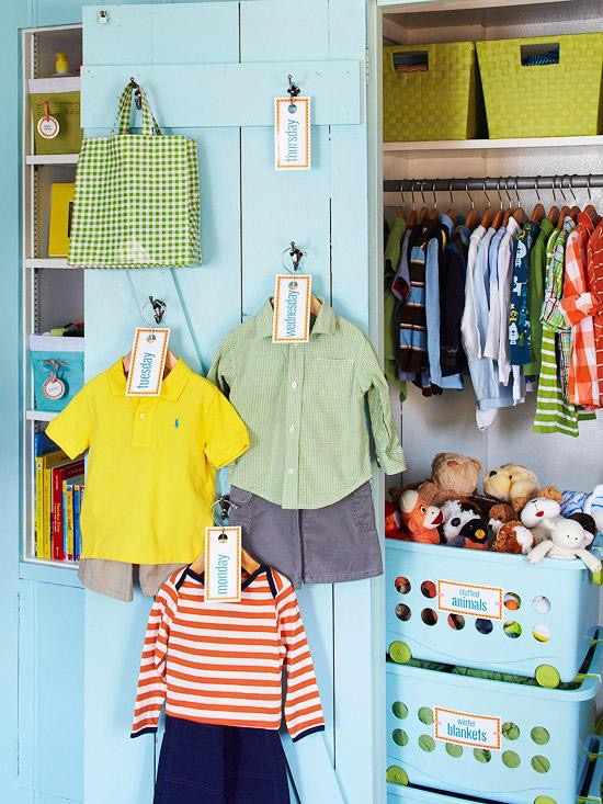 Organizing Your Childu0027s Closet To Foster Self Sufficiency