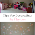 Tips for Decorating a Playroom with Fathead vinyl decals #ad | mybigfathappylife.com