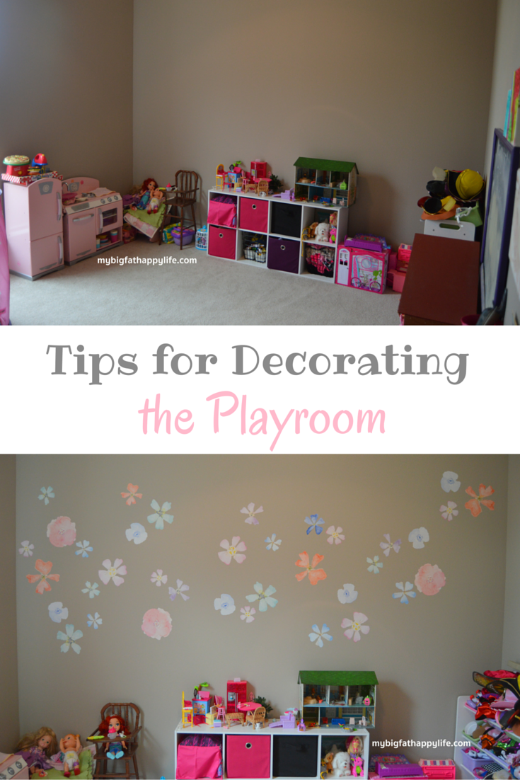 Tips for Decorating the Playroom - My Big Fat Happy Life