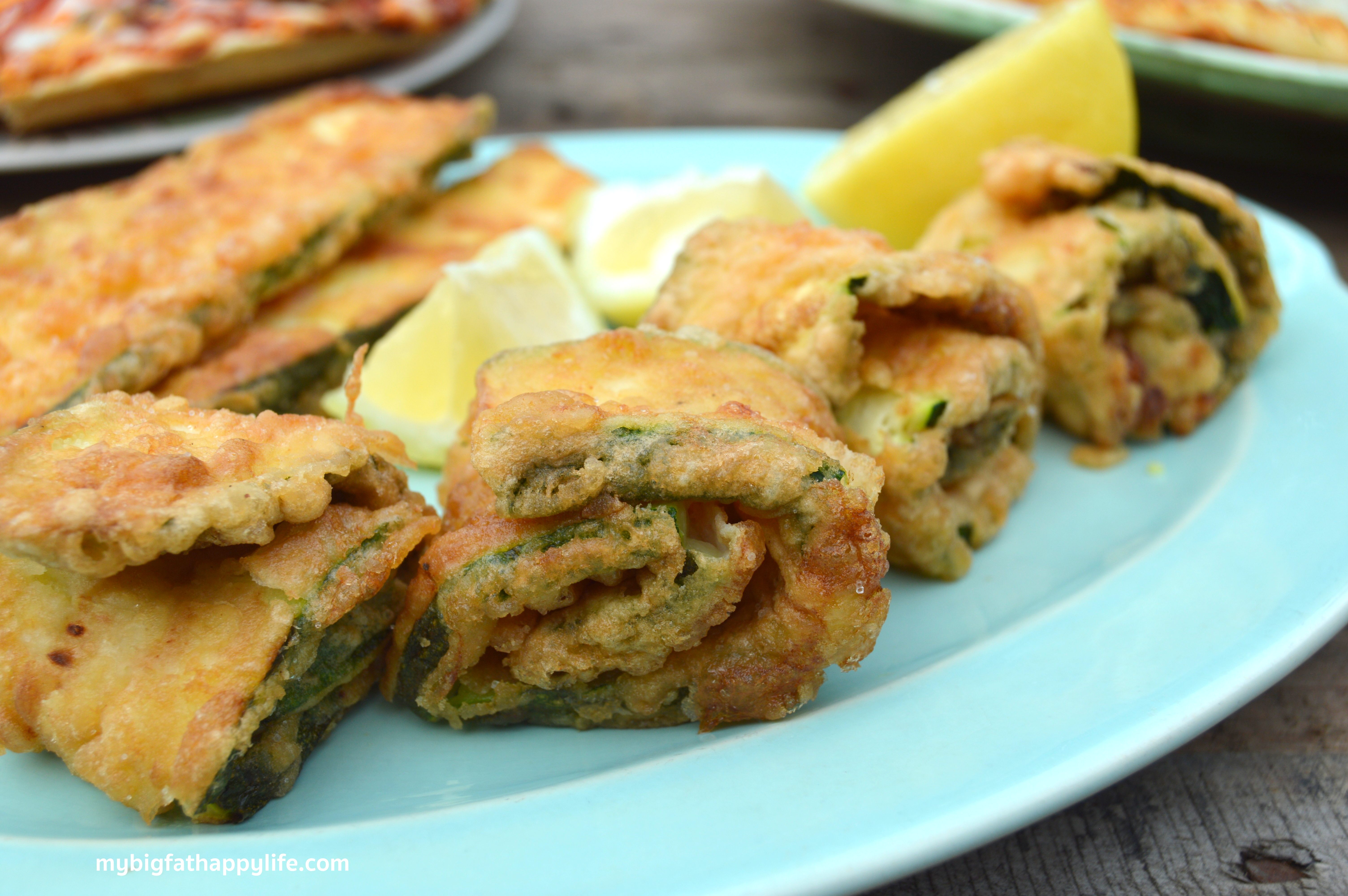 How to fry zucchini