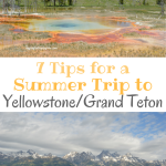 7 Tips for a Summer Trip to Yellowstone/Grand Teton National Parks