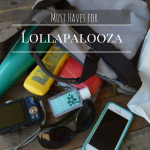Must Haves for Lollapalooza in Chicago