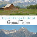 Top 6 Things to Do in Grand Teton National Park | mybigfathappylife.com
