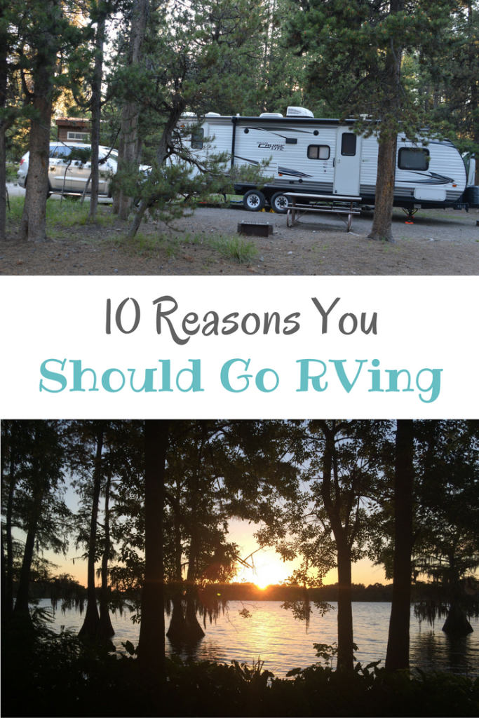 10 Reasons You Should Go RVing #FindYourAWAY #GoRVing #ad | mybigfathappylife.com