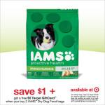 Save Money on IAMS Dog Food at Target