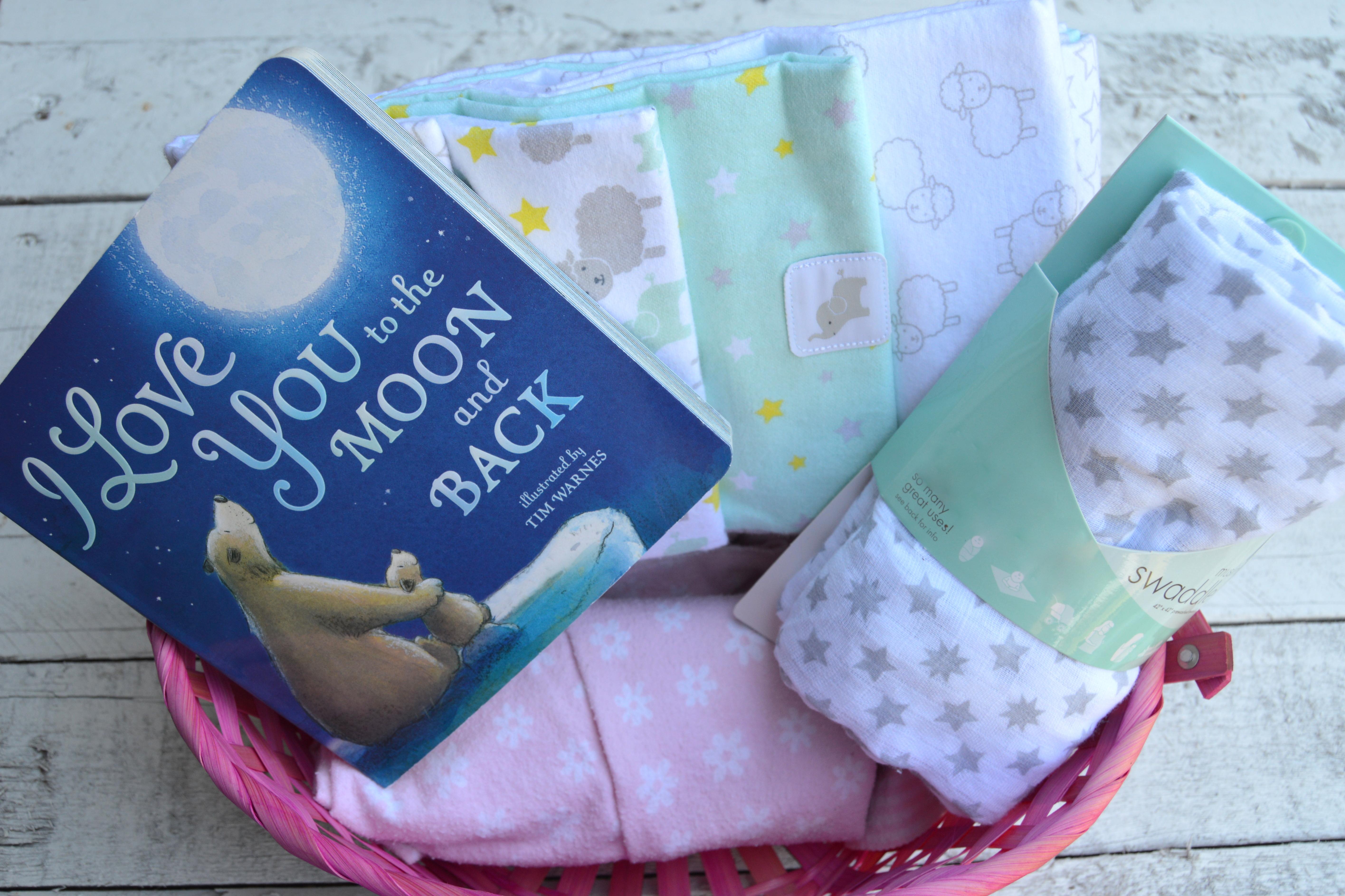 Baby Shower Gift Basket My Big Fat Happy Life