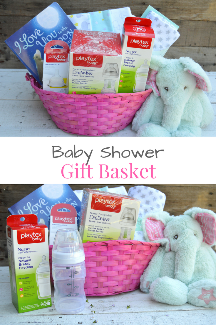My Favorite Items For A Baby Shower Gift Basket For New Moms #BetterBottles  #ad