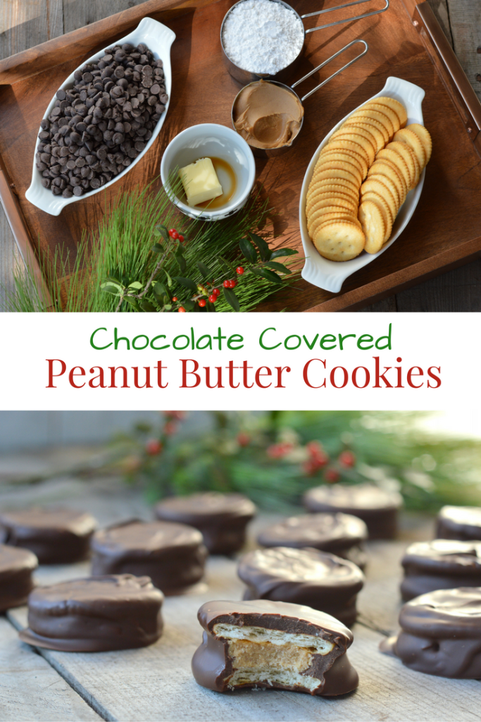 Chocolate Covered Peanut Butter Cookies | mybigfathappylife.com