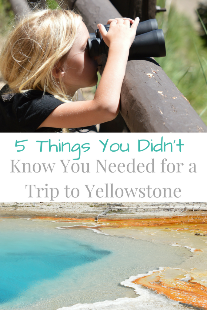 5 Things You Didn't Know You Needed for a Trip to Yellowstone and Grand Teton National Parks | mybigfathappylife.com