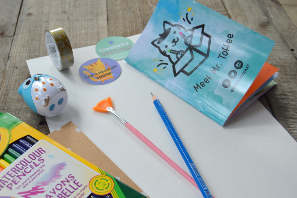 Perfect Birthday Present to Expand Your Child's Creativity: Think With Art #thinkwithart #ad | mybigfathappylife.com