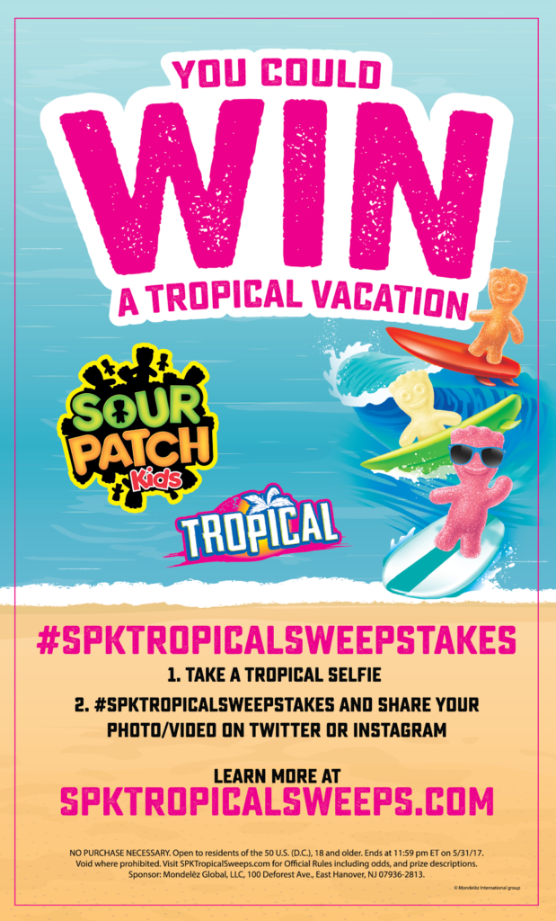 Paradise is Calling! Enter now for a chance to win a trip to Hawaii in this Sweepstakes from Sour Patch Kids #spktropicalsweepstakes @SourPatchKids @Walmart | mybigfathappylife.com