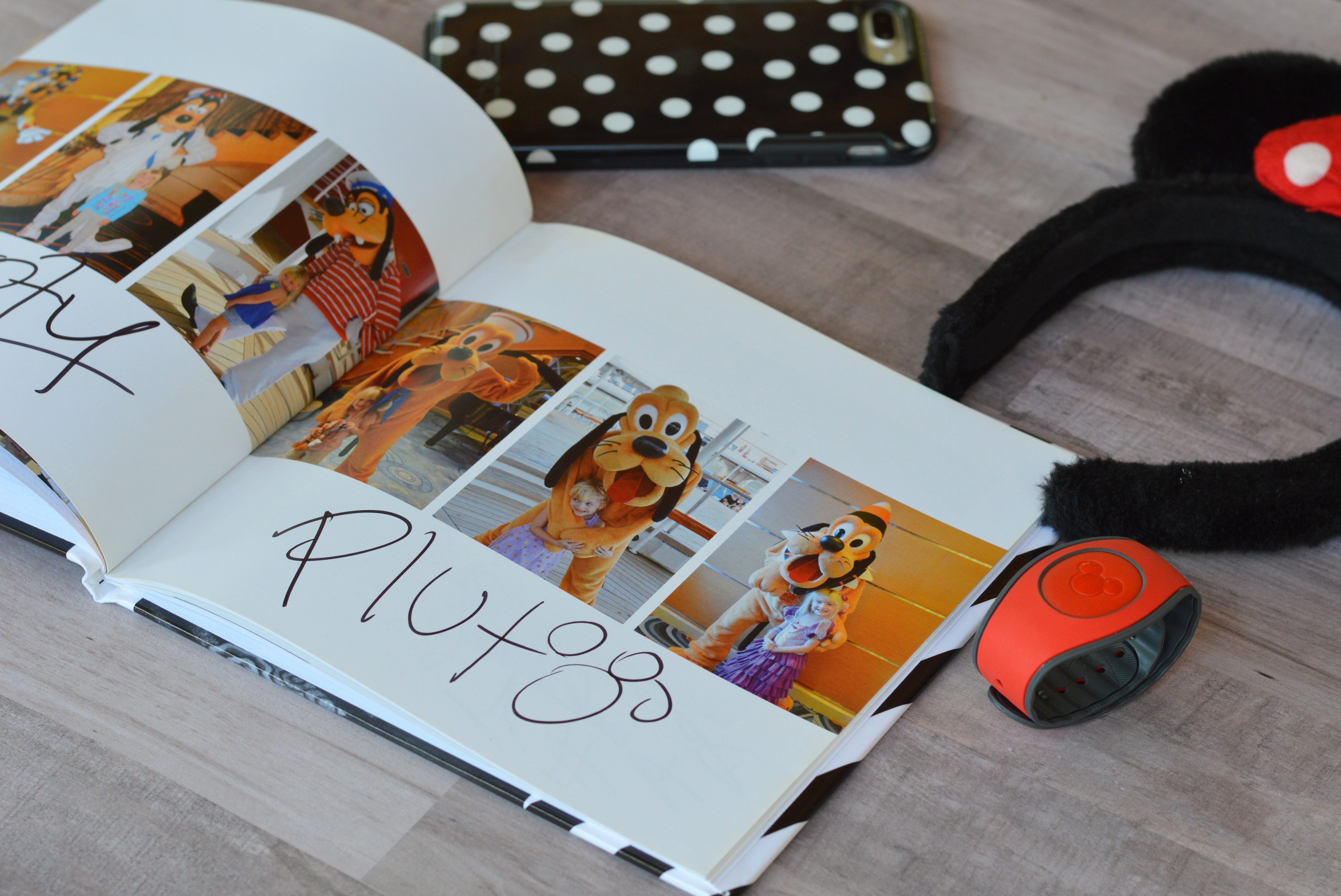 diy disney autograph book my big fat happy life