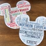 How to Make Personalized Mickey Word Cloud Magnets