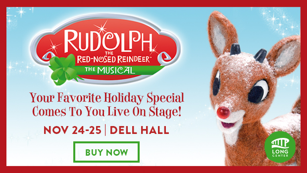 Rudolph the Red-Nosed Reindeer: The Musical in Austin, Texas on November 24 & 25, 2017 at the Long Center #ad | mybigfathappylife.com
