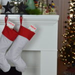 DIY Homemade Stocking with Pattern + Stocking Stuffer Ideas