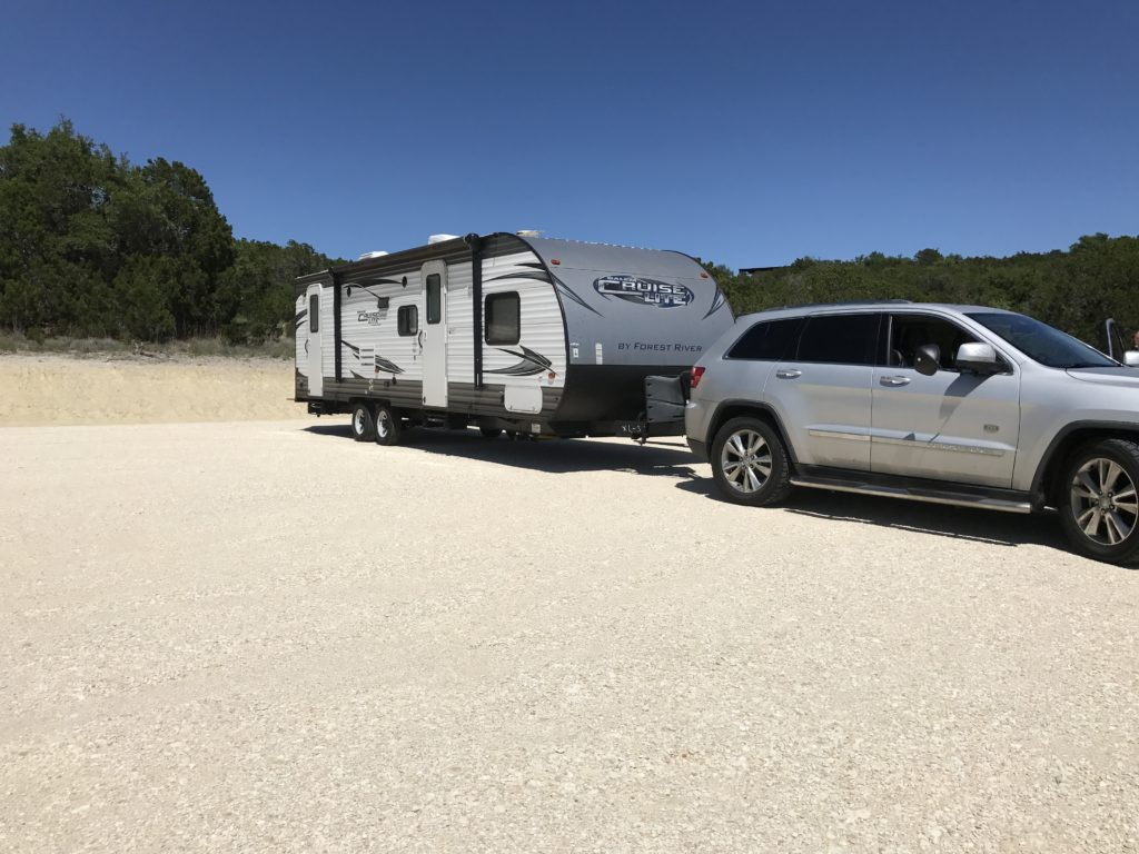 Towing A Camper With A Jeep