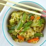 Asian Inspired Vegetable Rice