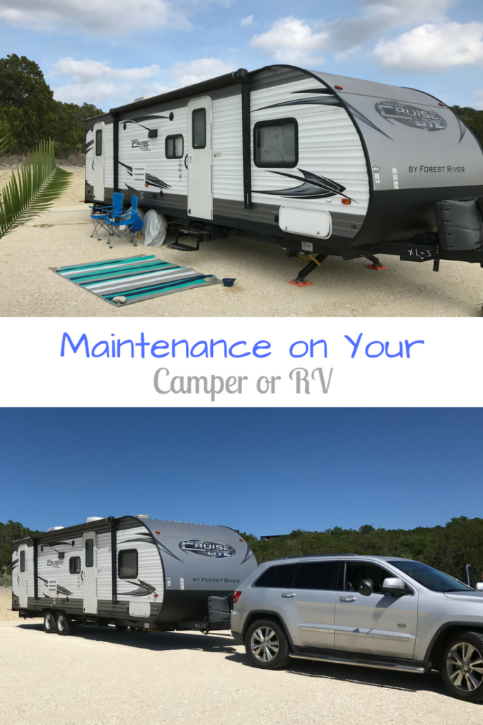 Maintenance on Your Camper or RV