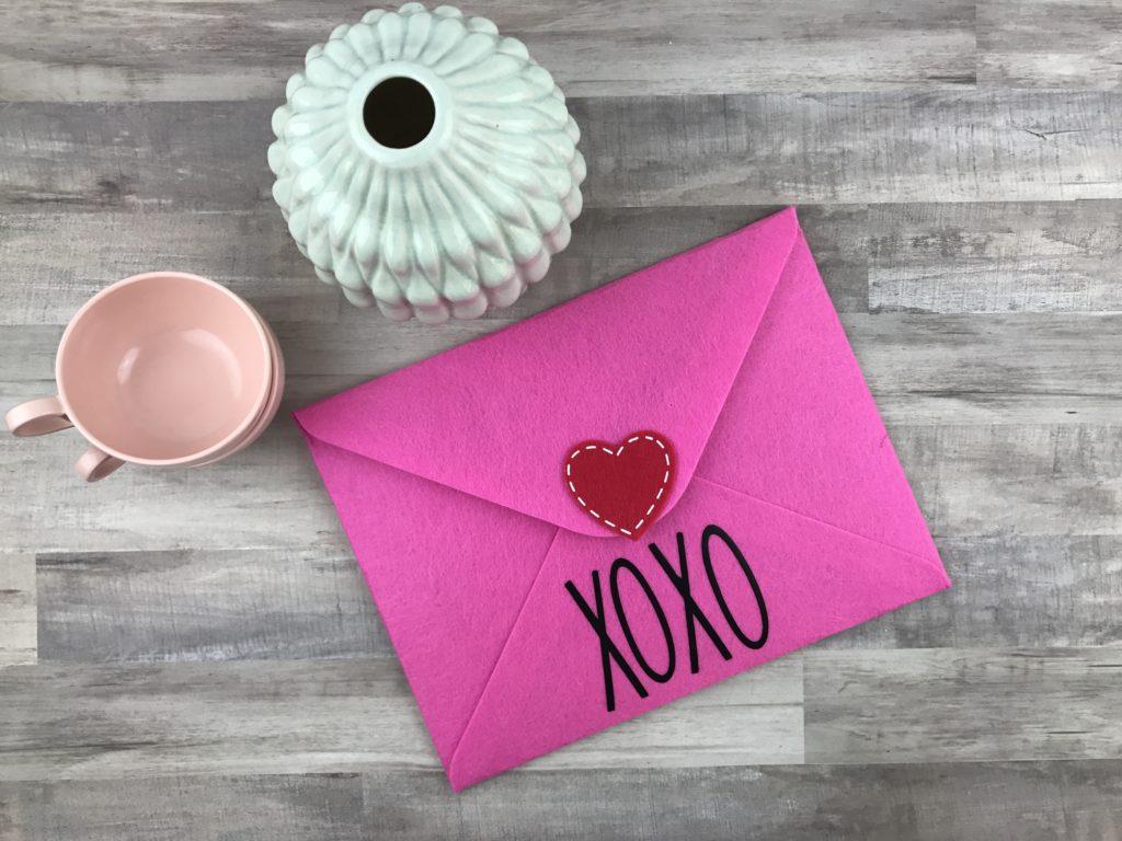 Rae Dunn Inspired Valentine's Day Envelopes / Mailboxes