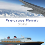 Pre-cruise Planning Checklist
