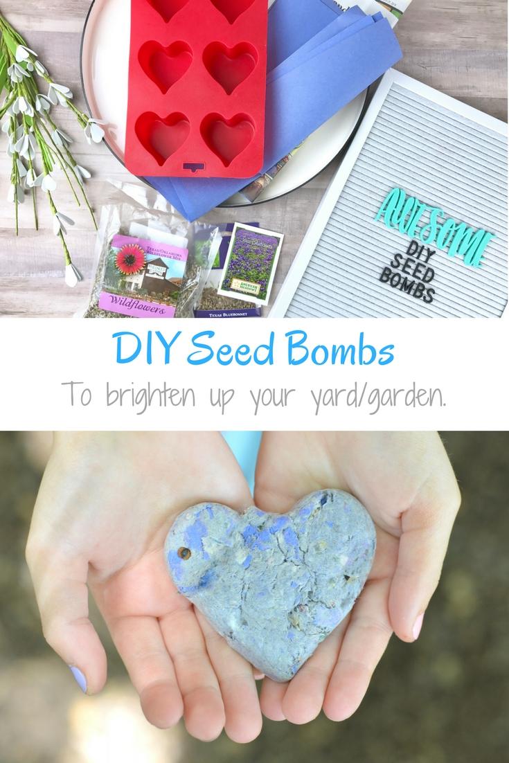 Diy Seed Bombs My Big Fat Happy Life