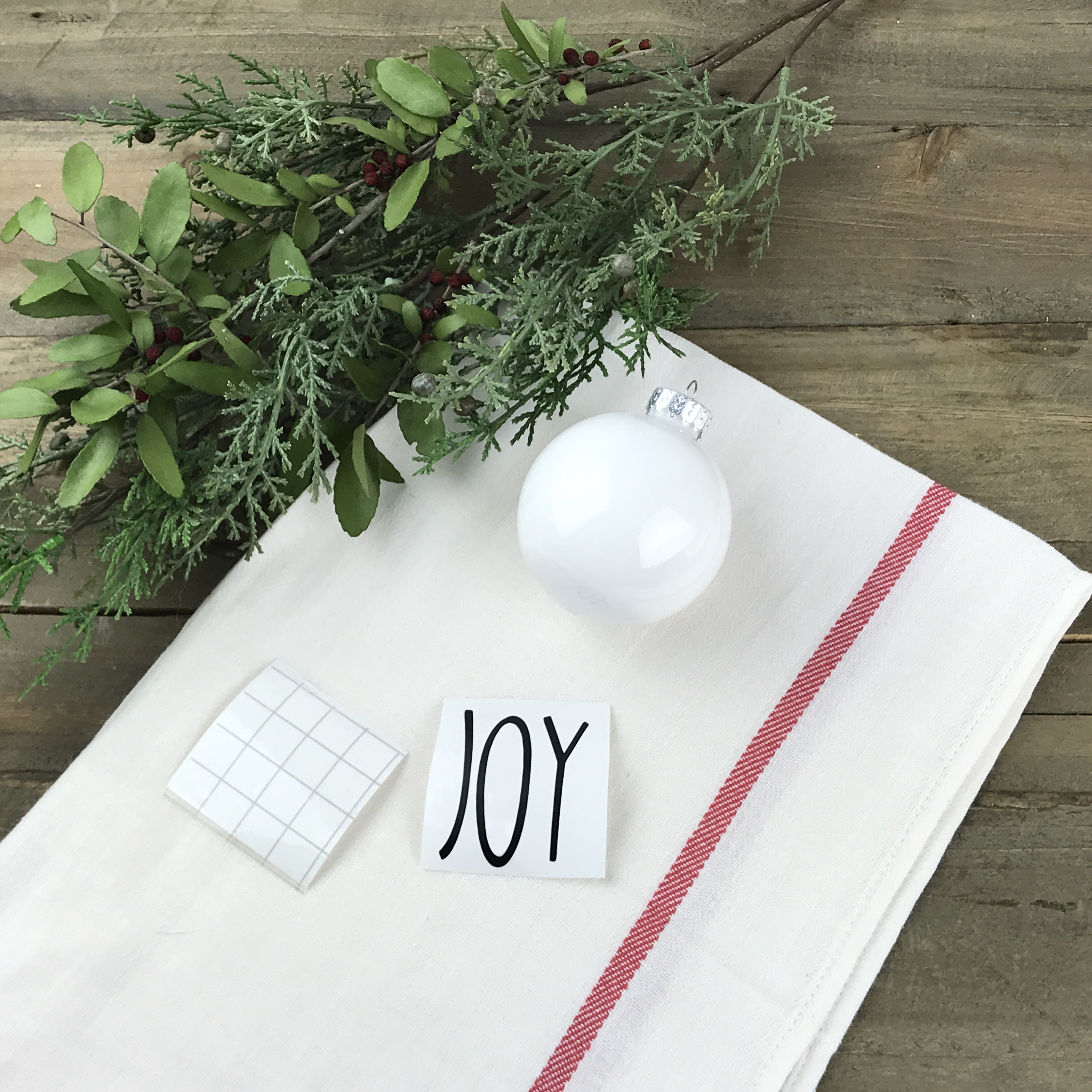 Diy Rae Dunn Inspired Christmas Ornaments My Big Fat Happy Life