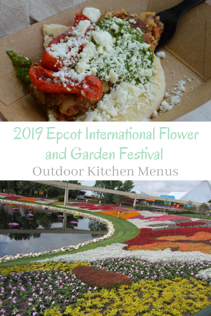 2019 epcot international flower and garden festival outdoor kitchen