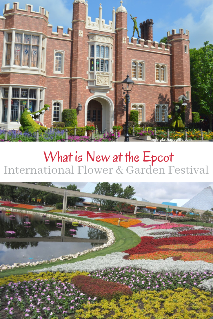what is new at the epcot international flower and garden festival