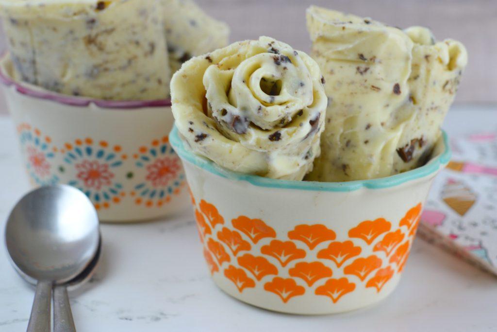 Homemade Rolled Ice Cream - My Big Fat Happy Life